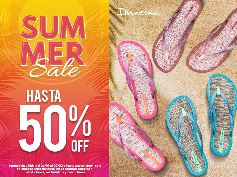 30% welcome sale ipanema