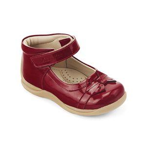 Zapato de vestir para bebe color rojo