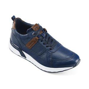 Zapatilla-urbana-de-cuero-caballero-color-azul