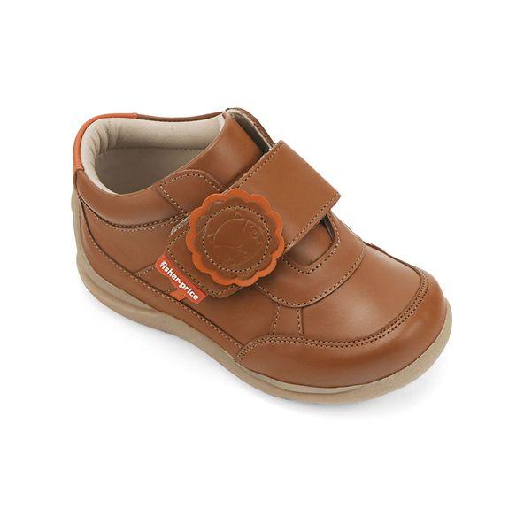 Zapato-casual-cuero-libre-metales-pesados-color-marron