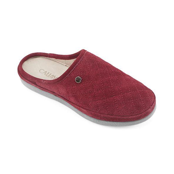 Pantufla-de-dama-ligera-y-con-estilo-color-rojo