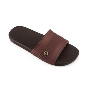 Sandalia-Montreal-Slide-AD-brasilera-para-caballero-color-marron