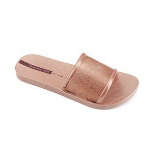 Sandalia-slider-con-brillos-brasailera-para-mujer-color-cobre