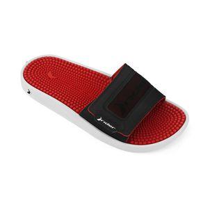 Sandalia-slider-con-plantilla-antiestres-confort-para-caballero-color-rojo-negro