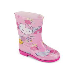 Bota-de-lluvia-ligera-con-aroma-a-fresas-para-niNas-color-rosado