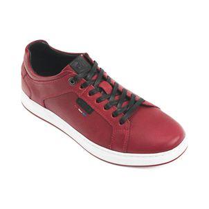 Zapatilla-urbana-cuero-peruano-caballero-color-rojo