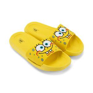 Sandalia-slider-liviana-para-una-aventura-en-Fondo-de-Bikini-color-amarillo
