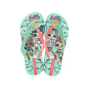 Sandalia-flip-flop-con-un-divertido-personaje-para-niNas-color-verde
