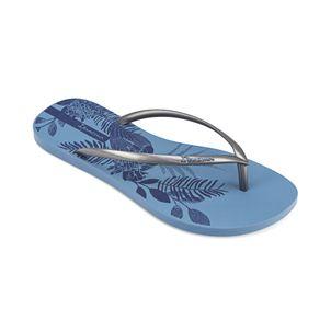 Sandalia-playera-con-impresiones-frescas-para-dama-color-azul-plata