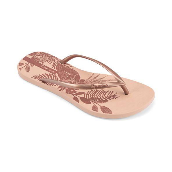 Sandalia-playera-con-impresiones-frescas-para-dama-color-beige-rosa