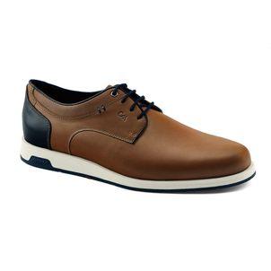 Zapato-casual-de-cuero-peruano-con-finos-acabados-para-hombre-color-tan
