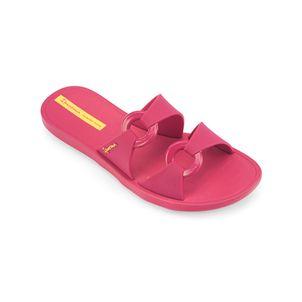 Sandalia-verano-slider-doble-tira-color-fucsia