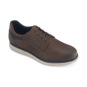Zapato-casual-en-cuero-graso-y-colores-juveniles-color-marron